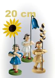 Blumenkinder, 20 cm