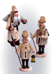Gesandelte Räuchermänner