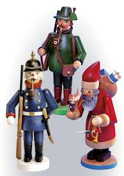 Traditionelle Räuchermänner