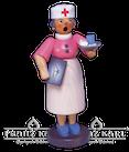 Rauchfrau ,,Krankenschwester - 22 cm