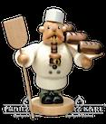 Räuchermann Bäcker-Pfeifenraucher, 19 cm