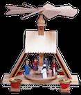 Pyramide Christi Geburt - Figuren bunt - 23 cm