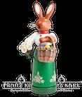 Rauchfigur - Hasenfrau, 22 cm