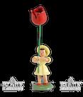 Blumenkind mit Tulpe, farbig