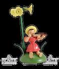 Blumenkind sitzend mit Primel/Violine
