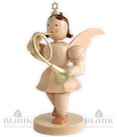 Engel 20 cm mit Waldhorn