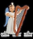 Harfe-Langrockengel, farbig