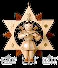 Engel 20cm mit Violine im Stern