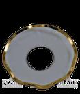 Lichtmanschette 70 mm/Goldrand/25mm Loch
