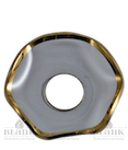 Lichtmanschette 50 mm/Goldrand/15mm Loch