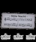 Notenblatt für Sänger oder Flügel