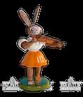Osterhase mit Violine, farbig